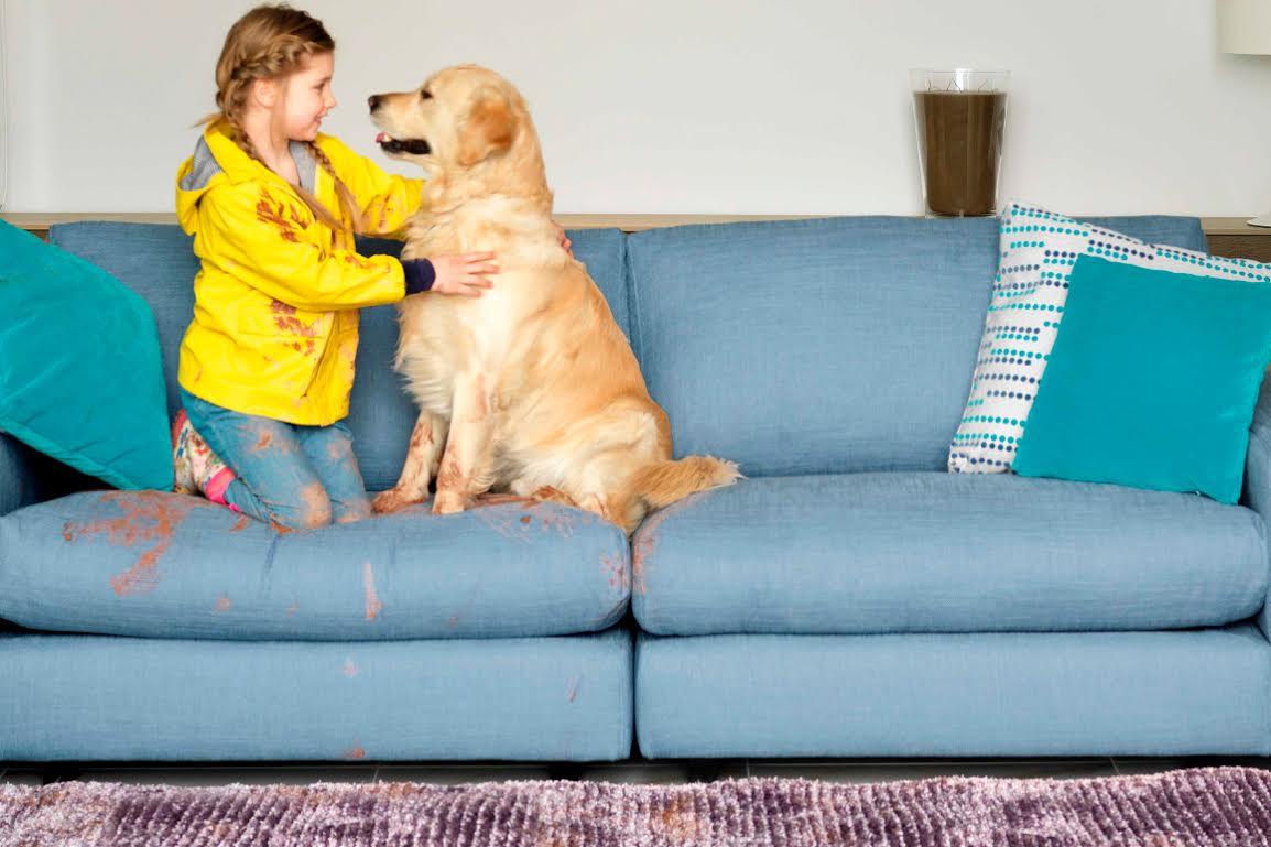 netejar un sofà